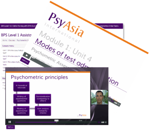 Online Psychometrics Course BPS Level 1 & 2