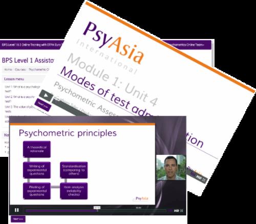 Online Psychometrics Course BPS Level 1 & 2