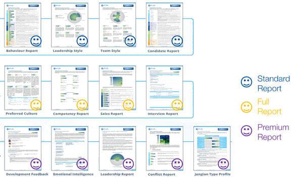 Quest Profiler® Personality Questionnaire Reports