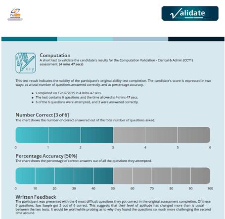 Prevent Aptitude Test Cheating - Validate