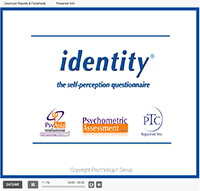 Identity Self-Perception Questionnaire Personality Assessment