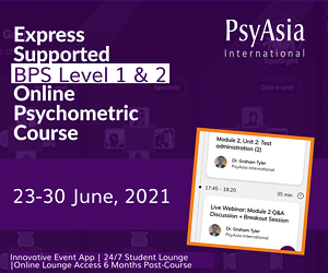 BPS Level 1 & 2 Psychometrics Course Online